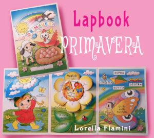 lapbook primavera lorella flamini
